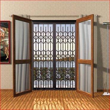 Cancelli di sicurezza omniaedil - Inferriate estensibili per finestre ...